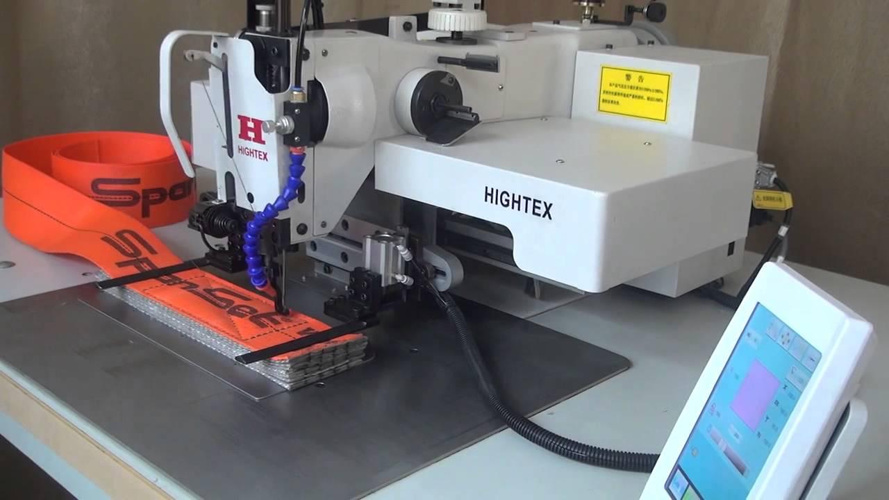 733PLC Maquina de coser industrial automatica para tejido