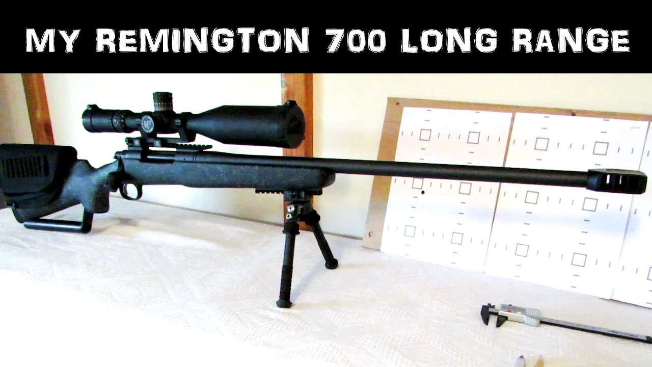 Mods to a Remington 700 LR 300wm
