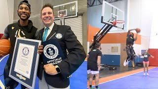 MY FIRST SLAM DUNK GUINNESS WORLD RECORDS TITLE! Video