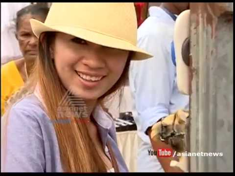 Foreign tourist visit Kerala with police protection on Harthal day