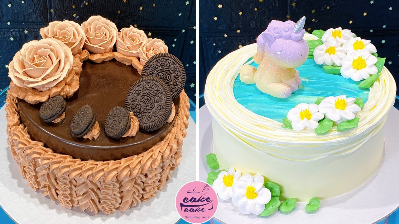 Amazing Cake Decorating Supplies for Beginners   Most Satisfying Chocolate Cake Decorating Ideas