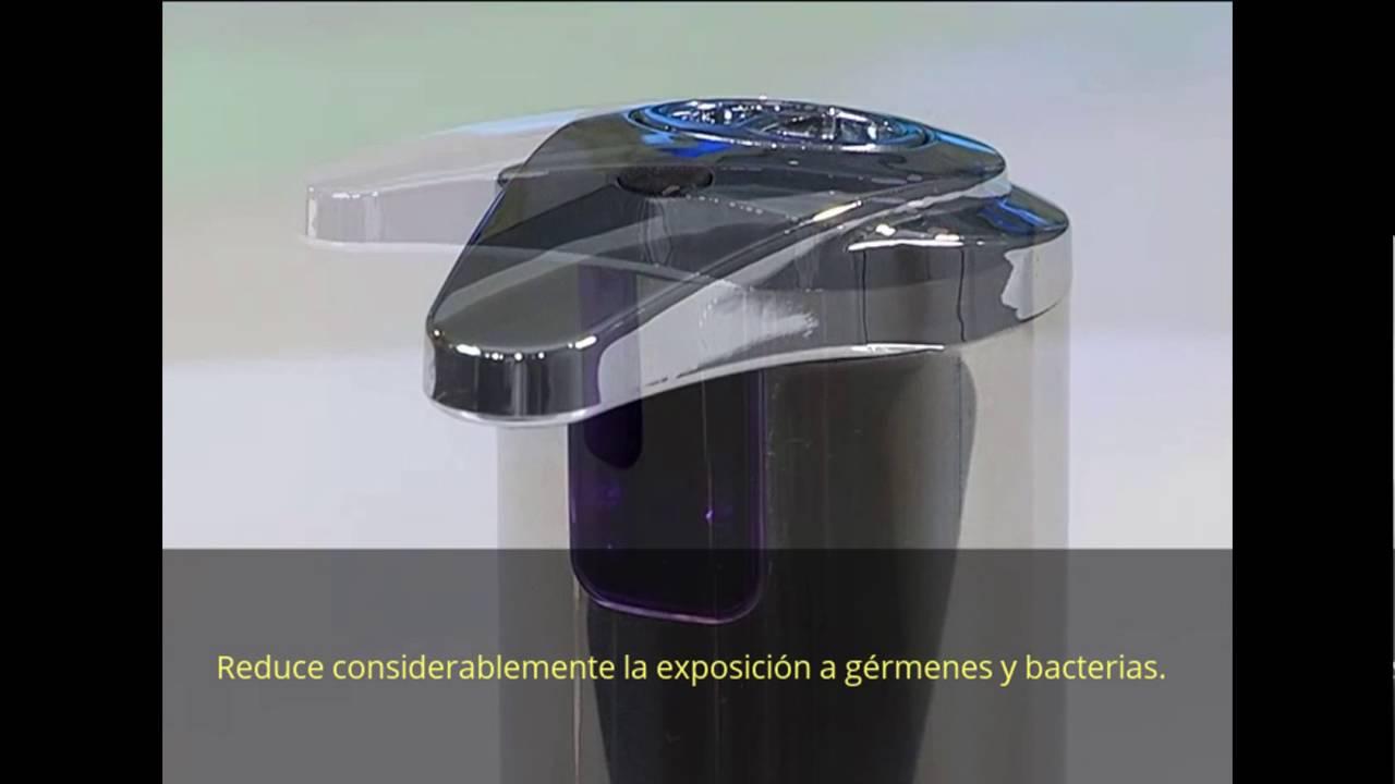 Dispensador de jab n autom tico deluxe innovo youtube - Dispensador de jabon automatico ...