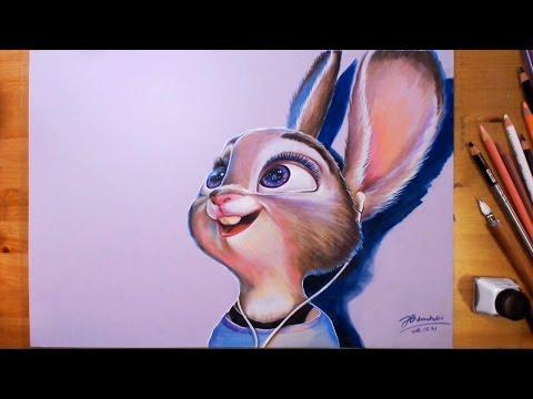 Zootopia, Judy Hopps - Speed drawing   drawholic