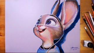 Zootopia, Judy Hopps - Speed drawing | drawholic
