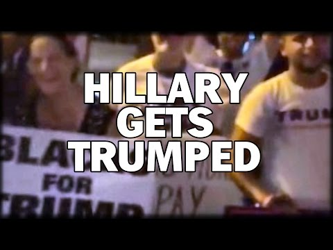 HILLARY TRUMPED IN FLORIDA! BLACK TRUMP SUPPORTERS OUTNUMBER HILLARY SUPPORTERS AT FLORIDA EVENT