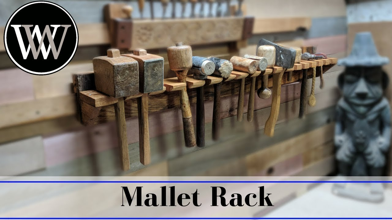 Making A Mallet Rack For The French Cleat Wall Hand Tool