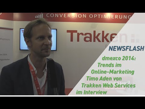dmexco 2014: Trends im Online Marketing - Timo Aden von Trakken Web Services im Interview