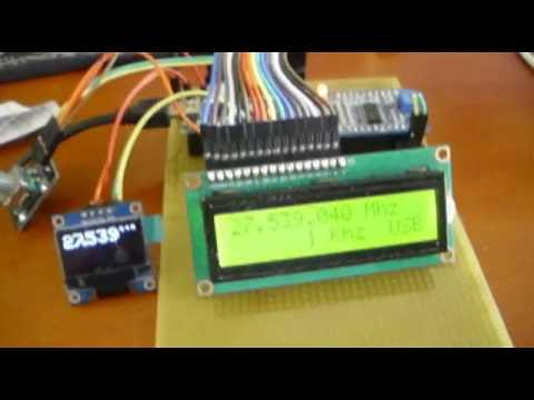 OLED digital vfo cb Display using arduino - Eltimple
