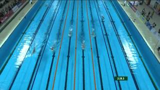 27th SEA GAMES MYANMAR 2013 - Swimming 13/12/13