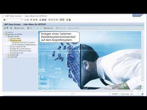 Live Hacking Demo: SAP Gateway Hack