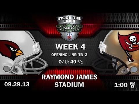 Arizona Cardinals vs Tampa Bay Buccaneers NFL Week 4 Preview | 2013 NFL Picks w/ Tony George, Loshak