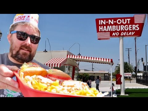 The Original In-N-Out Burger / Free Samples & Fast Food University