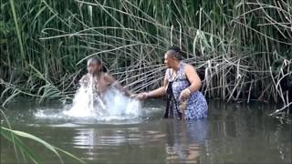 Sangomas Cleansing At The River
