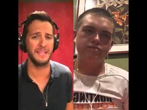 Play it Again Luke Bryan and Jeremy Westerbeck Smule Sing ...