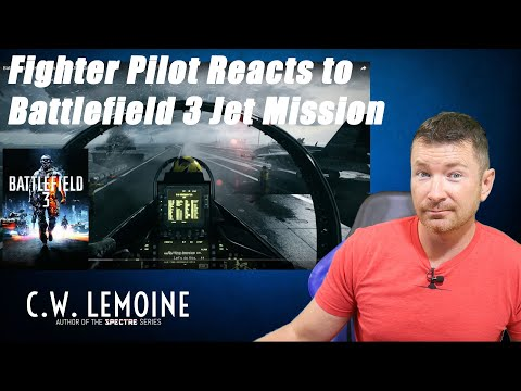 Fighter Pilot REACTS to BATTLEFIELD 3 F/A18 Mission