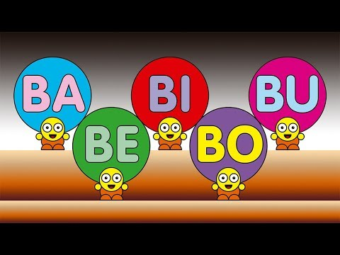 BA BE BI BO BU  - Smart Kids - A E I O U