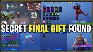*NEW* 14 DAYS OF FORTNITE LEAKED SECRET FINAL GIFT! *All Leaked Gifts*