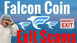 Falcon Coin Exit Scam