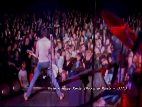 Ramones - Now I Wanna Be A Good Boy / Now I Wanna Sniff Some Glue / We're A Happy Family (Live)