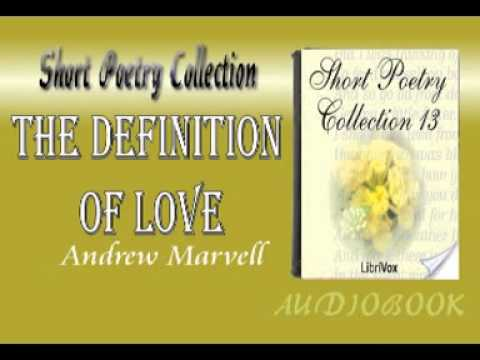 The Definition of Love Andrew Marvell Audiobook Short Poetry