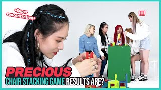 [Pops in Seoul] BEBE~♬ Today's game♟ for PRECIOUS(프레셔스) - 'Chair stacking!!🪑'