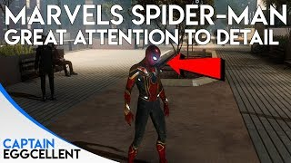 Spider-Man PS4 Has One Of The Best Examples Of Attention To Detail Ever