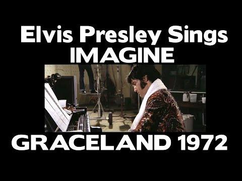 WOW!!! - Elvis Presley sings Imagine  - Graceland 1972