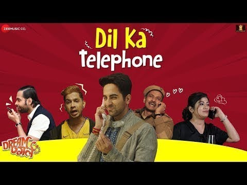 dil-ka-telephone-song-dream-girl-|-ayushmann-khurrana-|-new-song-2019-|-9xm-gaana