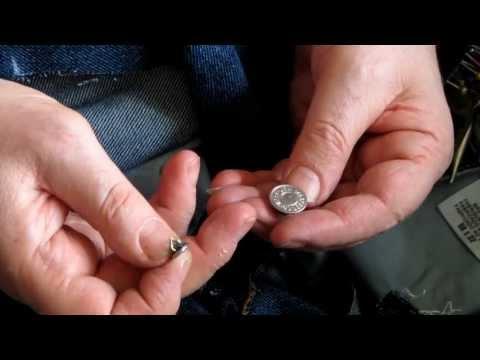 Как удалить пуговицу на джинсах