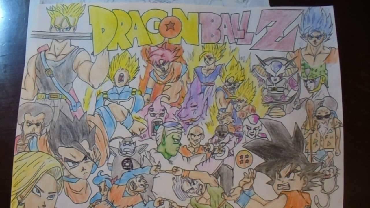 Cool Dragon Ball Z Drawings