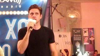 Aaron Tveit Goodbye on SiriusXM Live on Broadway