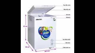 Tủ đông trữ sữa - tủ đông trữ thực phẩm gia đình - dòng mini 100l
