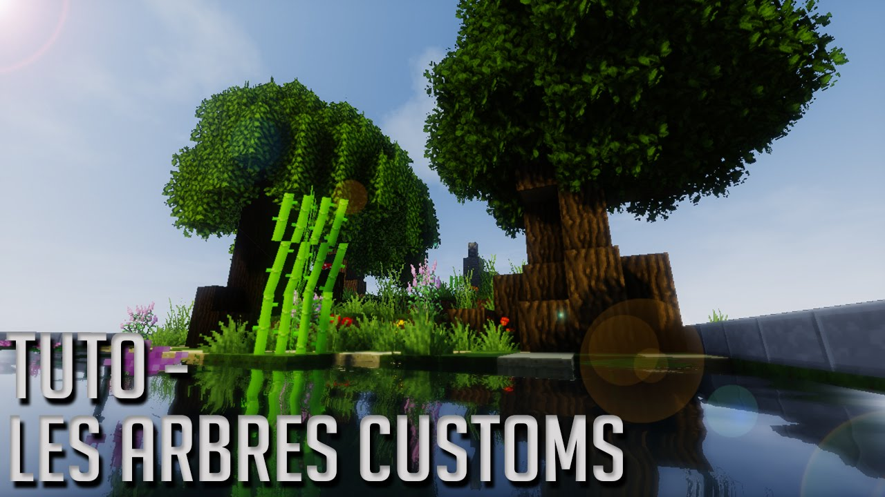 Tuto minecraft faire des arbres customs fr youtube - Comment coller un poster geant ...