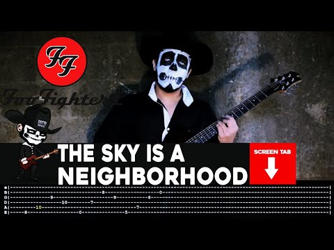 Foo Fighters - The Sky Is A Neighborhood (Guitar Cover by Masuka W/Tab)