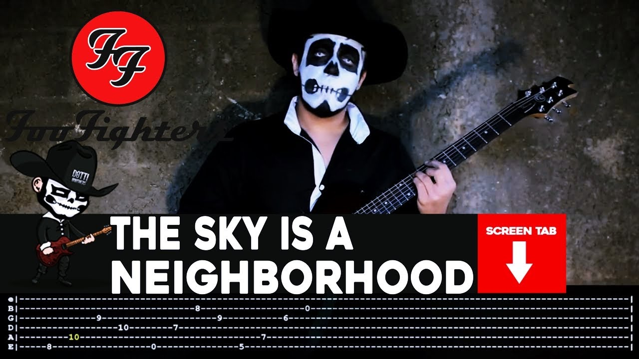 Foo fighters the sky is a neighborhood guitar cover by masuka w foo fighters the sky is a neighborhood guitar cover by masuka wtab hexwebz Image collections