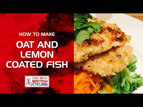 How To Make: Oats And Lemon Coated White Fish