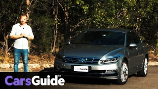 Volkswagen Passat 206TSI R-Line 2017 sedan review | road test video