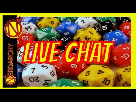 Talking D&D and Gaming with Jose Kercado- Live Chat #249