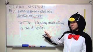 2015H27大阪府高校入試前期入学者選抜英語B2-3