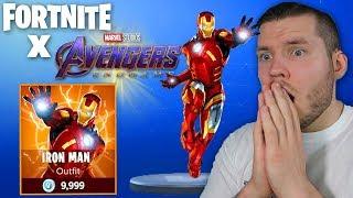 Fortnite x Avengers...