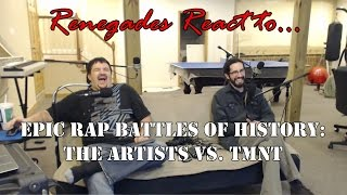 Gambar cover Renegades React to... Epic Rap Battles of History Artists vs. TMNT