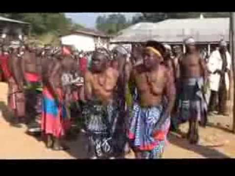 "Oku Palace ""Fulengang dance , Mabuh.& wanmabuh.."" North west cameroon, central west Africa"