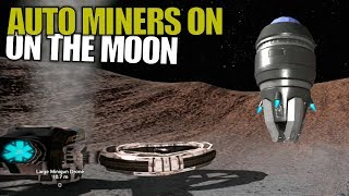 AUTO MINERS ON THE MOON | Empyrion: Galactic Survival | Let's Play Gameplay | S14E16