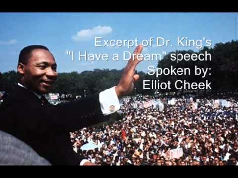 "Martin Luther King's ""I Have a Dream"" Speech (Spoken by ..."