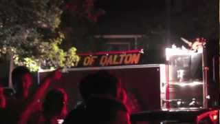 Fire at Dalton, GA USA:  April 28, 2012