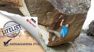 Ammagamma (V13) - Grampians, Australia