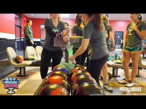 Kati Morse: 2016 Allstate Sugar Bowl Collegiate Bowling Invitational Promo