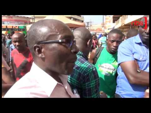 Traders Strike over Rent Increment