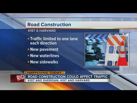 Two road construction projects start in Tulsa