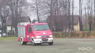 OSP Brzeszcze próbny alarm Pożarniczy